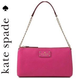 NWT Kate Spade Wellesley Byrd Deep Pink Bag